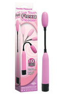 Luv Touch Flexa Pleaser Massager Waterproof 11.5 Inch  Pink