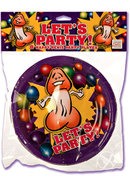 Lets Party 8 Happy Penis Party Plates Small