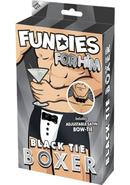 Fundies Black Tie Boxer-o/s