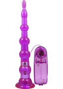 Adam And Eve Easy Anal Buddy Jelly Vibrating Probe Purple