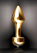 Fetish Fantasy Gold Mini Luv Plug Gold 2.4 Inch