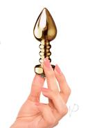 Fetish Fantasy Gold Luv Plug Gold 3.25 Inch