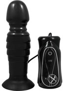Adam And Eve Thrusting Anal Silicone Vibe Waterproof Black...
