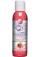 Candiland Sensuals Sweet N Tart Warming Massage Gel...
