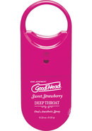 Goodhead Deep Throat To Go Oral Anesthetic Spray Strawberry...