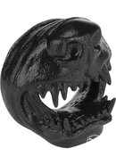 Oxballs Snarl Angry Dog Silicone Cockring Black