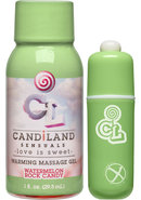 Candiland Sugar Buzz Massage Set Waterproof Bullet...