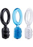 Screaming O Dongle Vibe C Ring Assorted Colors 6 Each Per...