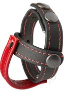 Kink Leather Sub Presenter Cock And Ball Accessory Black...