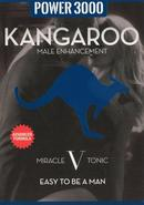 Kangaroo Power 3000 Miracle V Tonic Male Enhancement Pill 2...