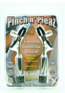 Pinch N Pleaz Multispeed Vibrating Nipple Clamps