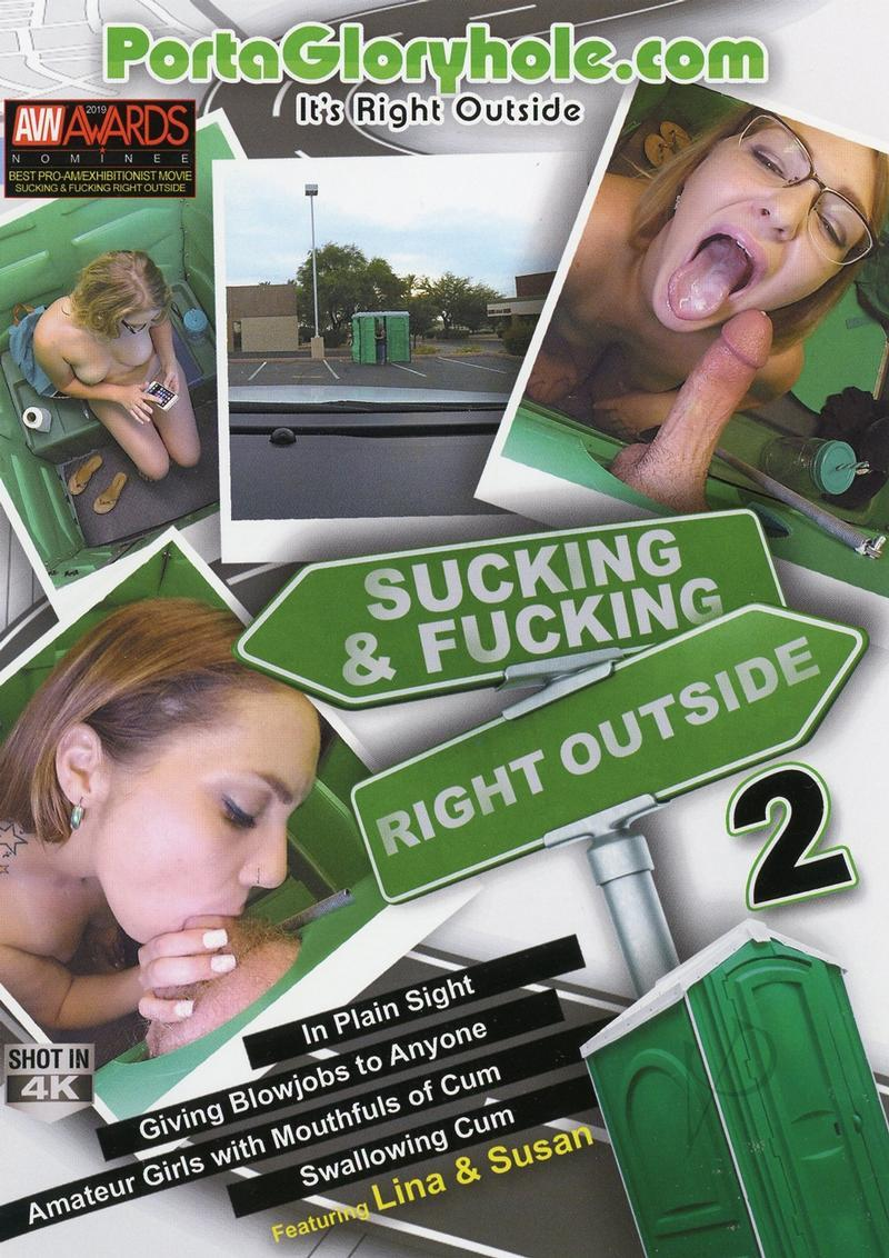 Sucking And Fucking Right Outside 02