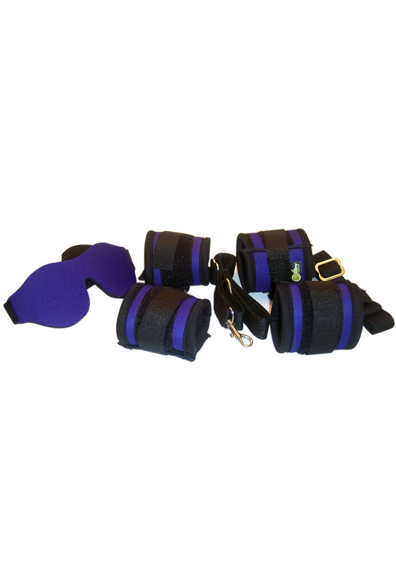 Whip Smart Explore Bondage Kit Exotic Purple