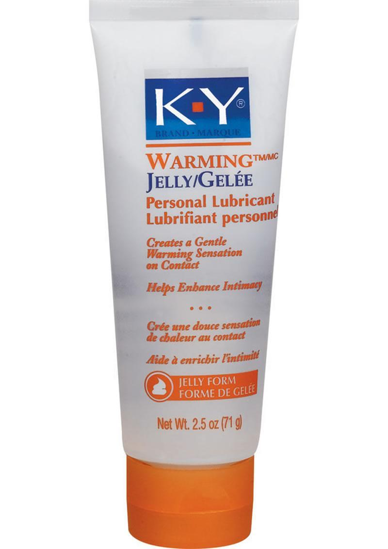 Ky Warming Jelly Lubricant 2.5oz