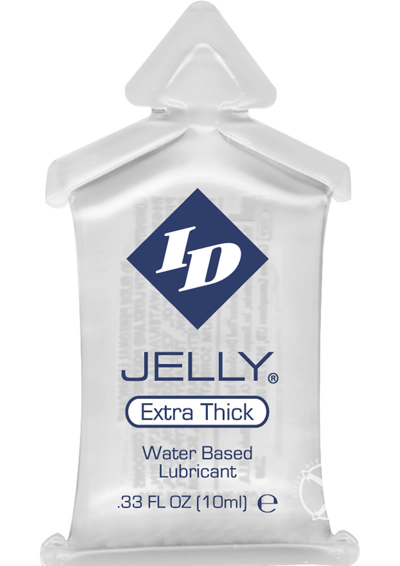 Id Jelly Lubes Waterbased Lubricant 10 Milliliter Pillows 144 Each Per Bag