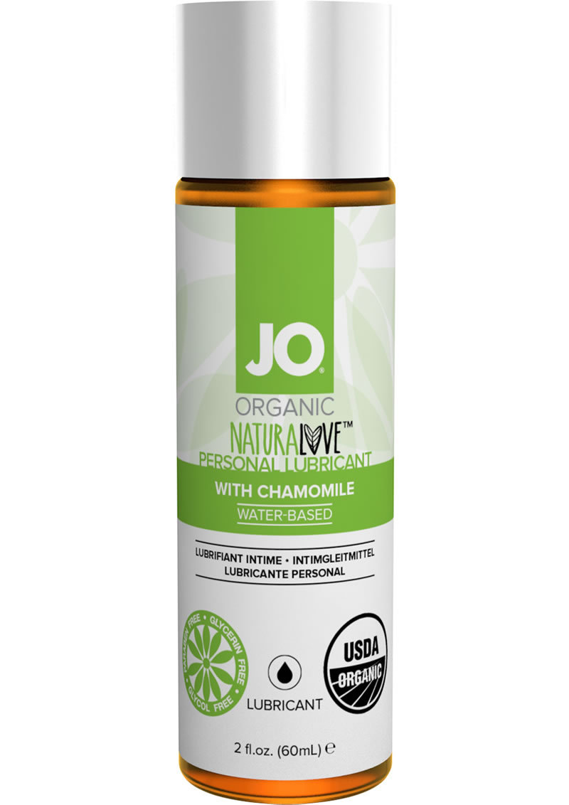 Jo Organic Naturalove Personal Waterbased Lubricant With Chamomile 2 Ounce