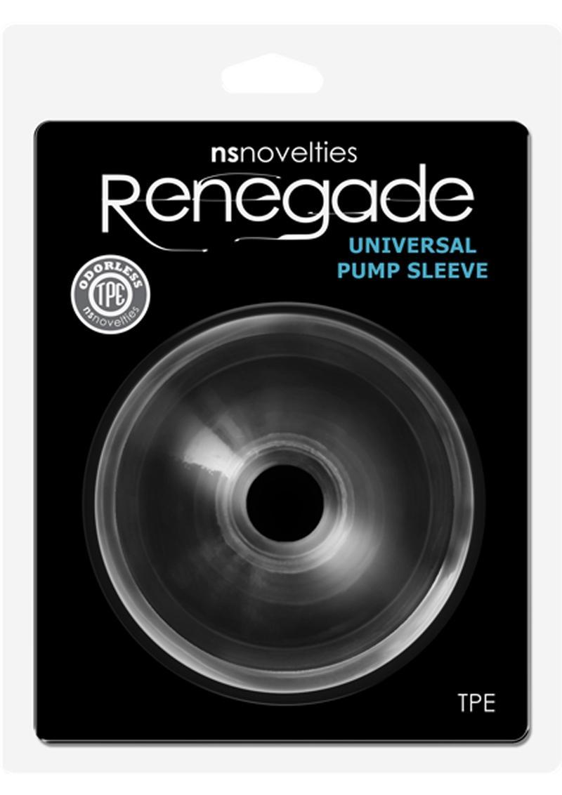 Renegade Universal Pump Sleeve Donut Clear
