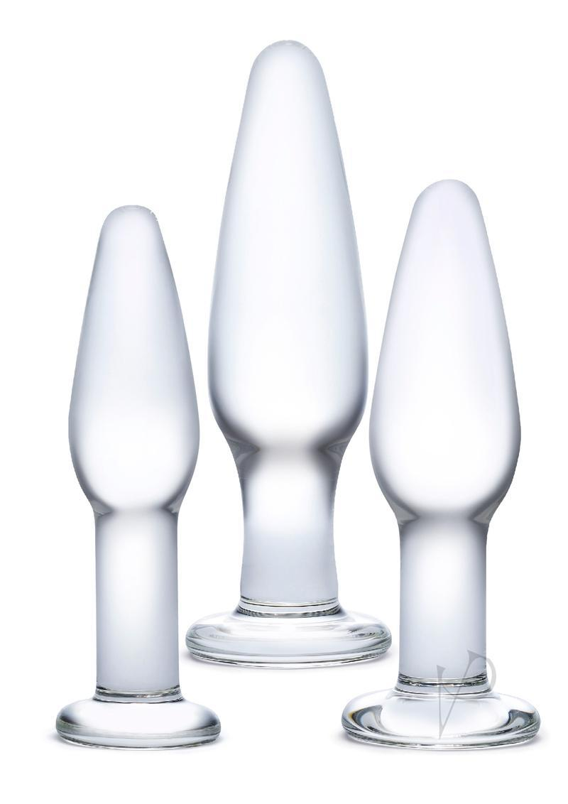 Glas Anal Training 3 Piece Set Glass Clear