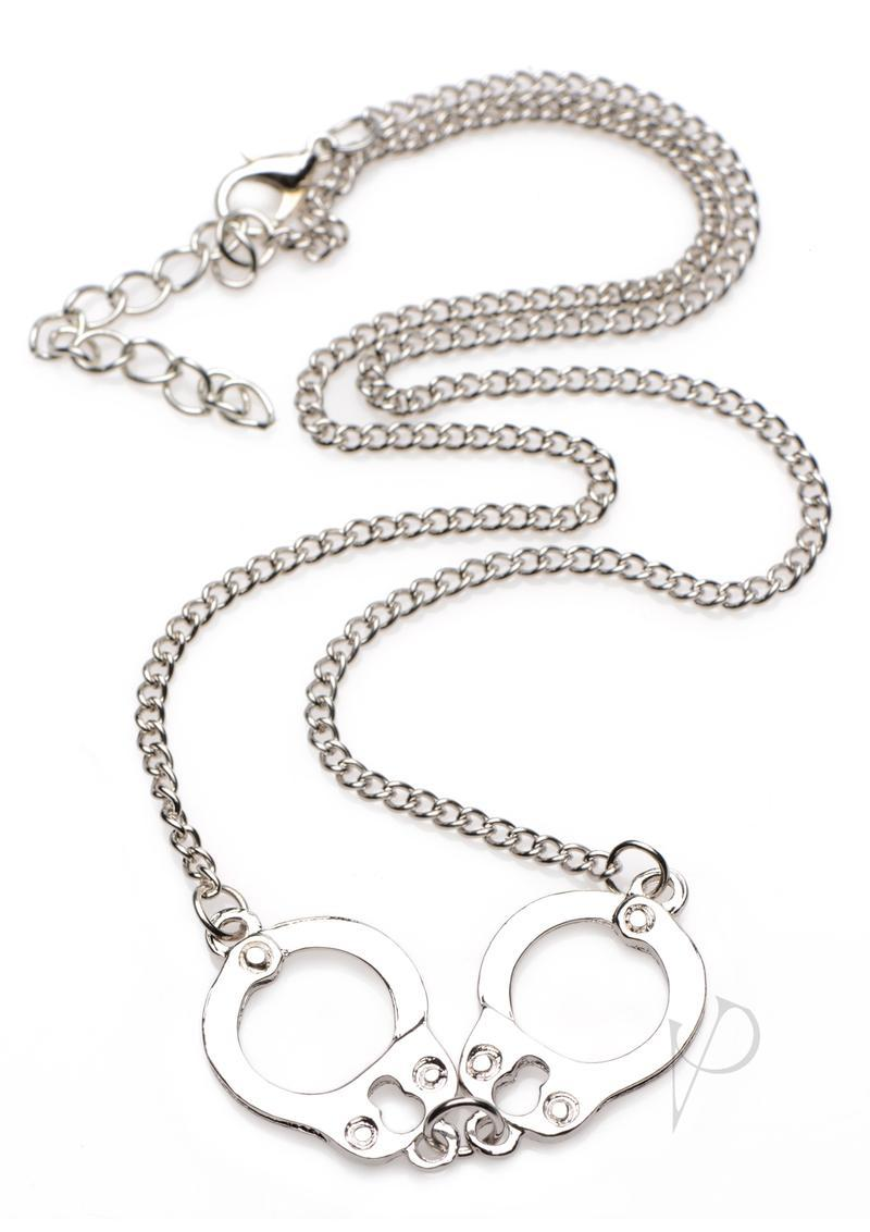 Master Series Cuff Her Handcuff Necklace Nickel Free