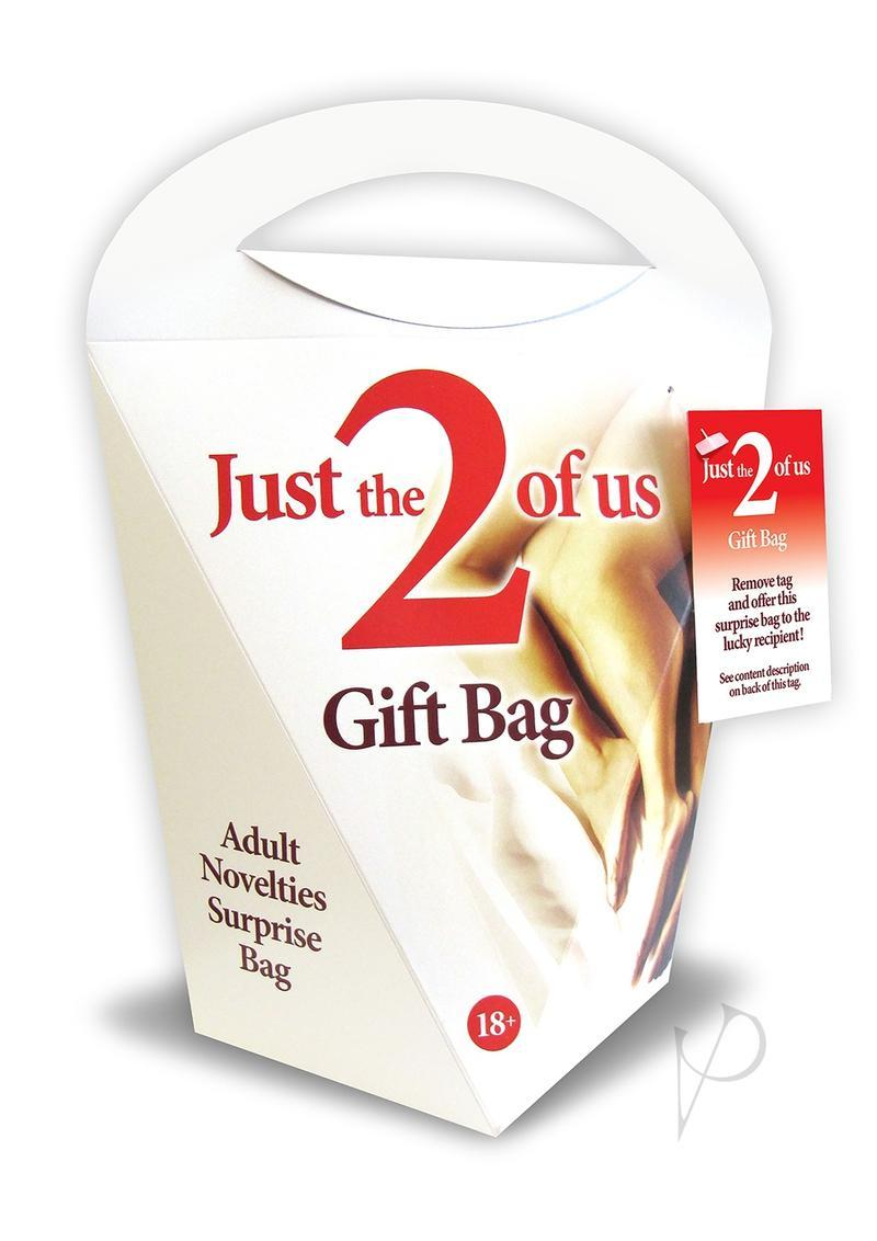 Just The 2 Of Us Gift Bag Adult Novelty Surprise Bag